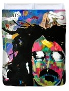 Frank Zappa Pop Art Duvet Cover