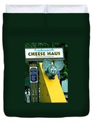 Frankenmuth Cheese Haus Mouse  Duvet Cover