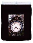 Frankenmuth Time Duvet Cover