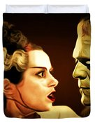 Frankenstein And The Bride I Have Love In Me The Likes Of Which You Can Scarcely Imagine 20170407 Duvet Cover