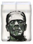 Frankenstein Portrait Duvet Cover