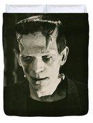 Frankensteins Monster Boris Karloff Duvet Cover