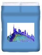 Frankfurt Skyline 3 Duvet Cover