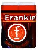 Frankie's Fort Worth Duvet Cover
