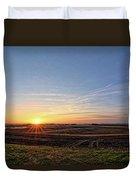Franklin County Iowa Duvet Cover