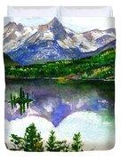 Franks Painting Duvet Cover