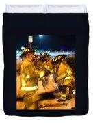Frantic Rescue Duvet Cover
