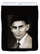Franz Kafka Duvet Cover