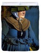 Frau Kitzler Goes Hunting Duvet Cover