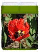 Frayed Tulip Duvet Cover