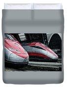Freccia Rossa Trains. Duvet Cover