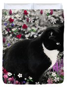 Freckles In Flowers II Duvet Cover