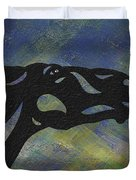 Fred - Abstract Horse Duvet Cover by Manuel Sueess