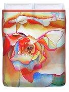 Fred Martin Begonia Duvet Cover