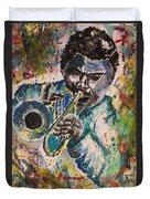 Freddie Hubbard Jazz Duvet Cover