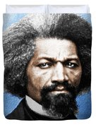 Frederick Douglass Painting In Color  Duvet Cover
