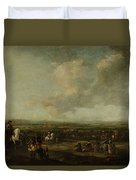 Frederick Henry At The Surrender Of Maastricht  22 August 1632  Manner Of Pieter Wouwerman 1633   1 Duvet Cover
