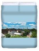 Fredericksburg Roof Tops Duvet Cover