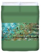 Free As A Bird By Madart Duvet Cover