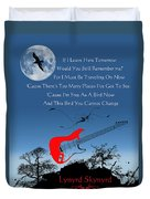 Free Bird Duvet Cover by Michael Damiani