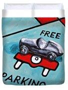 Free Parking Duvet Cover