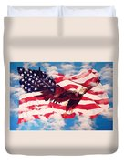 Freedom Eagle Duvet Cover