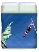 Freedom Flag Duvet Cover