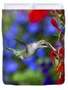 Freedom Hummingbird Duvet Cover