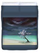 Freedom In Being Dust Duvet Cover
