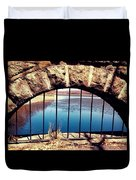 Freedom Is Breaking Down The Walls Duvet Cover
