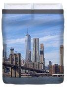 Freedom Tower I I Duvet Cover