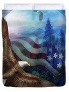 Freedom's Flight Duvet Cover
