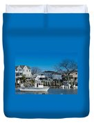 Freeport New York Bound For The Bay Duvet Cover