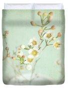 Freesia Blossom Duvet Cover