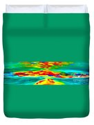 Freestyle Abstract Duvet Cover