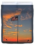 Freezeout Hill Memorial Duvet Cover