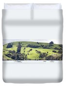 French Bay Panorama Duvet Cover