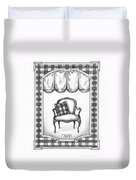 French Country Fauteuil Duvet Cover