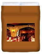 French Country Restaurant Duvet Cover