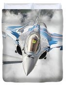 French Dassault Rafale Formation 1 Duvet Cover
