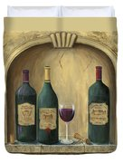 French Estate Wine Collection Duvet Cover