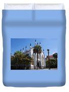 French Huguenot Church In Charleston Duvet Cover