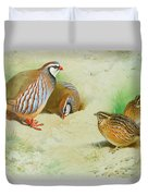 French Partridge By Thorburn Duvet Cover
