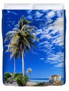 French Polynesia, Beach Duvet Cover