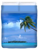 French Polynesia, Bora Bo Duvet Cover