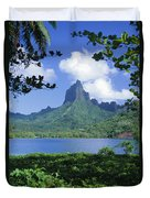 French Polynesia, Moorea Duvet Cover