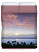 French Polynesia, Papeete Duvet Cover
