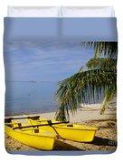 French Polynesia, Rangiro Duvet Cover