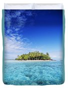 French Polynesian Island Duvet Cover