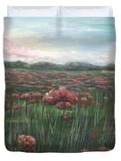 French Poppies Duvet Cover